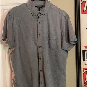 Marc Anthony Short Sleeve Button Down